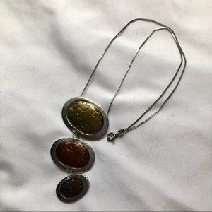 Silver/Bronze Necklace